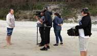 Interviewing shark attack survivors for Nat Geo